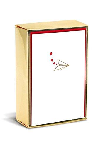 Boxed Notes: Paper Airplanes - Gruß- und Geschenkkartenbox mit Kuverts: Papierflugzeuge