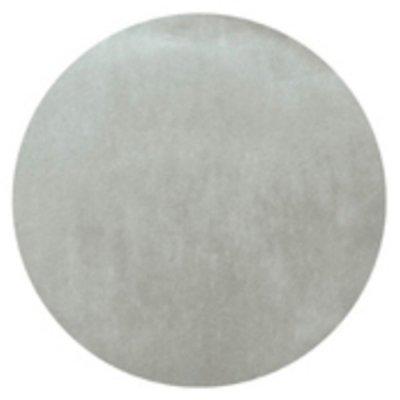 Platzdeckchen 50 Stück 'Vlies' grau Tischdeckchen Platzmatte Rund 2812