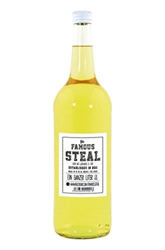 The Famous Steal Likör - Handgemachter Limetten Likör auf Wodka Basis - (1 Liter) …