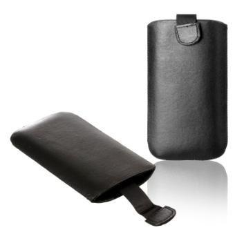 Handytasche für Wiko Stairway Handy Tasche Schutz Hülle Slim Hülle Cover Etui schwarz 3n