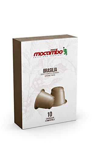 Mocambo Brasilia Kapseln für Nespresso® - 10 Kapseln