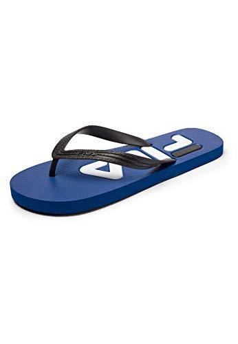 FILA Troy men Sandalia Hombre, azul (Surf The Web), 43 EU