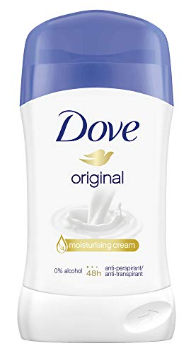 Dove Deostick gegen Achselnässe und Körpergeruch Original 48 Stunden Schutz, 40 ml, 1 Stück