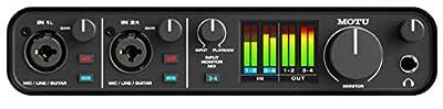 MOTU M4 4x4 USB-C Audio Interface from MOTU