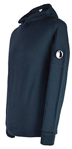 CP Company - Sudadera con capucha para hombre, color azul marino Azul azul marino XL