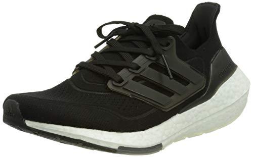 adidas Ultraboost 21 W, Scarpe da Corsa Donna, Core Black/Core Black/Grey Four, 41 1/3 EU