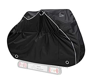 TeamObsidian Bike Cover XXL - Waterproof Outdoor Bicycle Storage for 3 Bikes - Heavy Duty Ripstop Material - Offers Constant Protection for All Types of Bicycles All Through The 4 Seasons