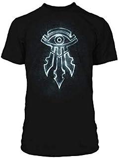 JINX World of Warcraft Mage Kirin Tor Symbol Premium Camiseta T-Shirt Black