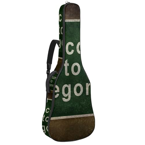 Rumor Marijuana Licensing Limits Electric Guitar Bag 0.35 Inch Thick Padding Waterproof Dual Adjustable Shoulder Strap Guitar Case Gig Bag