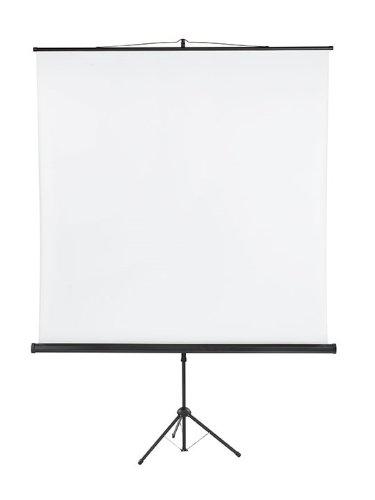 Franken LWST218 Stativleinwand X-tra beschichtetes Gewebetuch (180 x 180 cm)