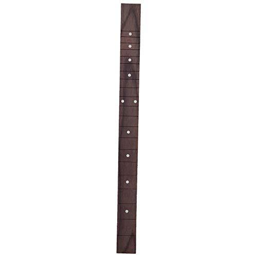 Bnineteenteam Gitarrengriffbrett, Palisander Griffbrett Ersatz Gitarrenhals für Akustikgitarre 510mm