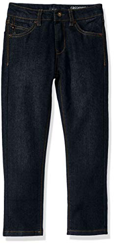 DKNY Boys' Big Skinny Fashion Jean, A Greenwich raw Indigo, 18