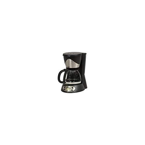Kitchen chef - ksmd230t - CafetiŠre programmable 6 tasses 550w noir/inox