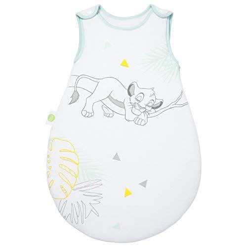 Babycalin DIS401908 Schlafsack, 65cm, Disney der König der Löwen, Weiß, mehrfarbig, 1 Stück