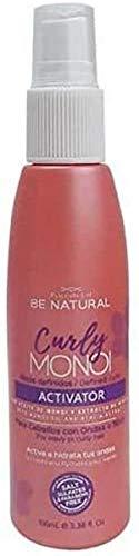 Be Natural - Activador de Rizos Definidos Curly Monoi, 100 ml
