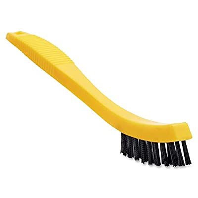 Rubbermaid Commercial Tile and Grout Brush, Black, FG9B5600BLA