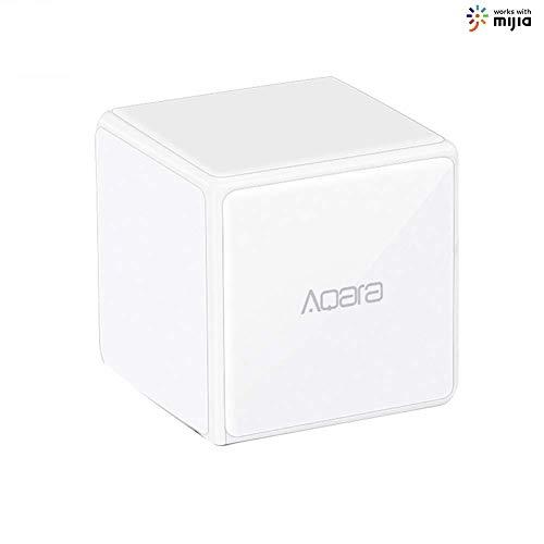 Guangmaoxin Aqara Magic Cube Controller Zigbee Version, se controla Mediante 6 acciones para Dispositivos Smart Home, Trabajo con Mijia App y Apple HomeKit