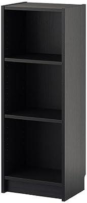 IKEA BILLY - Librero, negro-marrón - 40x28x106 cm: Amazon.es ...