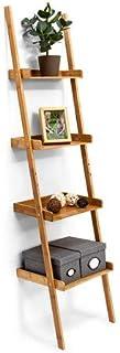Relaxdays–Estantería Estilo Escalera de bamb