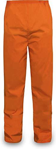 normani Outdoor Sports Regenhose für Damen und Herren wasserdicht 5000 mm für Wandern, Gassi gehen, Angeln oder Fahrad Fahren Farbe Orange Größe XXL
