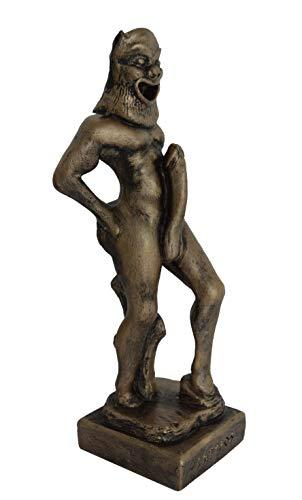 Talos Artifacts Satyr kleine Skulptur Statue – Dionysus Companions – Partytiere Satiros