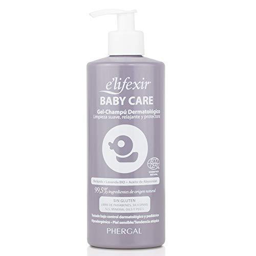 Elifexir Baby Care | Gel Champú Dermatológico Hipoalergénico para Bebés | 500 ml