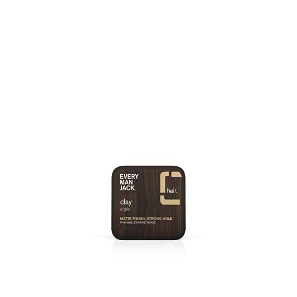 Beauty Shopping Every Man Jack Styling Clay | 2.6-ounce | Naturally Derived, Parabens-free, Pthalate-free,