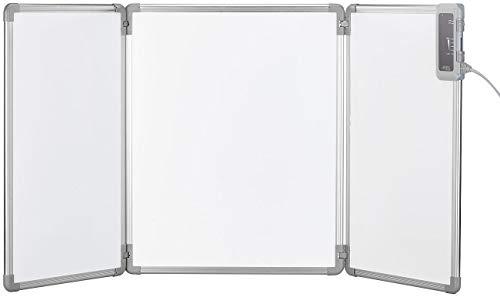 Sichler Haushaltsgeräte Heizung: Faltbares Fern-Infrarot-Heizpanel mit Alu-Rahmen, bis 80 °C, 315 Watt (Infrarotheizungen)