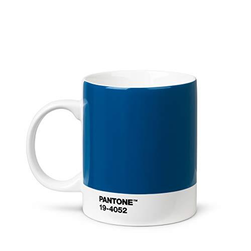Pantone Porzellan Kaffeetasse, Farbe des Jahres 2020, Classic Blue, 375 ml