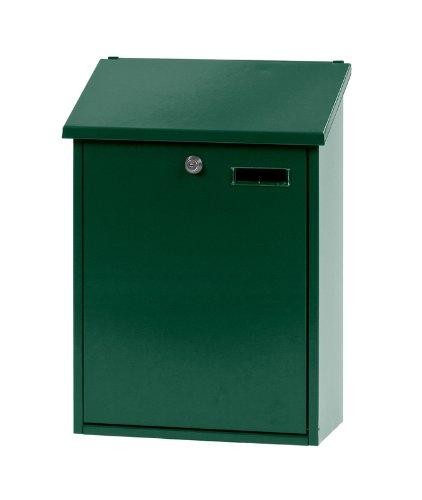 V-Part Wandbriefkasten, 32,5x16x44,5 cm, grün