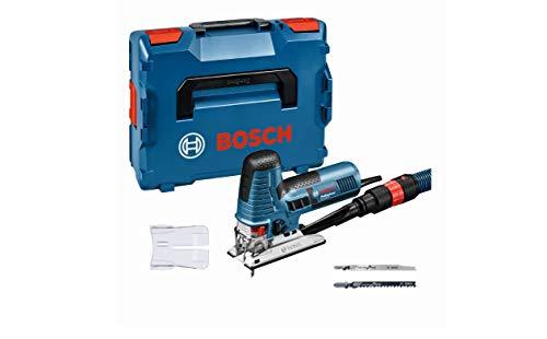Bosch Professional Stichsäge GST 160 CE (inkl. 3x Sägeblätter für Holz, Absaugadapter, Abdeckhaube, 1/1 L-BOXX-Einlage, L-BOXX 136)