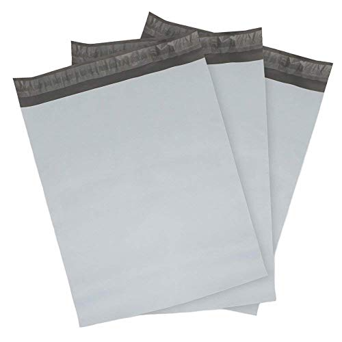 9527 Product Poly Mailers Envelopes Shipping Bags Self Sealing,100 Bags,10x13 inches,2.5 Mil (White)
