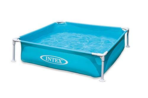 Intex Mini Frame Kids 4ft x 4ft x 12in Beginner Kiddie Swimming Pool (2 Pack)