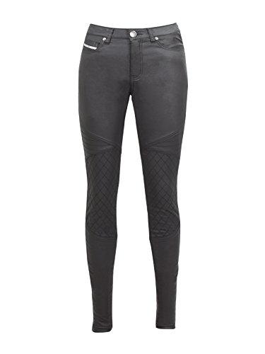 John Doe Betty Jeggings Black Used XTM | Motorradhose | XTM | Atmungsaktiv | Motorrad Jeans | Denim Jeans mit Stretch | Protektoren sind enthalten