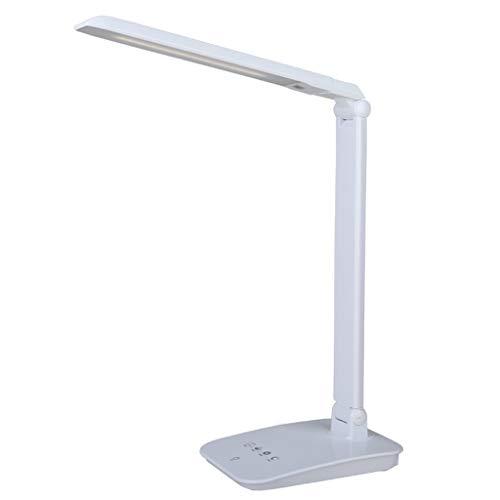 CSD Protección de los ojos LED lámpara de escritorio compartida USB recargable recargable de vista de ahorro de aprendizaje lámpara de escritorio (Color : A)