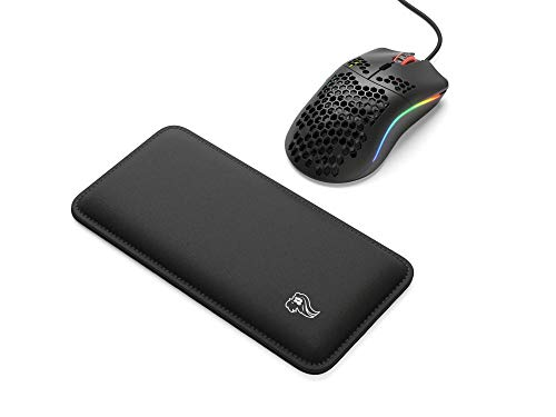 Glorious Model O (Matte Black) + Glorious Gaming Mouse Wrist Pad/Rest (Black)