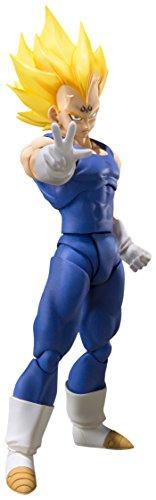 BANDAI–Majin Vegeta Figur 15.5cm Dragon Ball Z S.H. Figuarts, Mehrfarbig (Tamashii Nations bdidb087458)