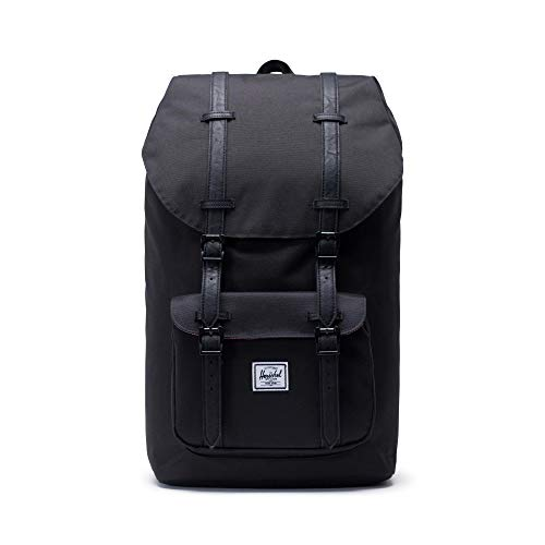 Herschel Little America BackPack Mochila tipo casual  50 cm  25 liters  Negro  Schwarz
