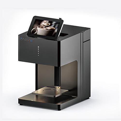 UNIMAT 100601 - Stampante per cappuccino, colore: Antracite