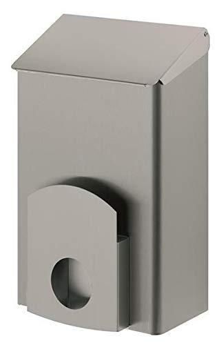 Dutch Bins Hygienebehälter - Mülleimer - geschlossen - 7 Liter - Edelstahl