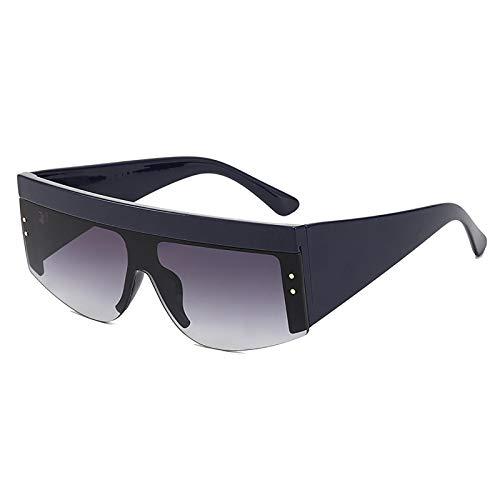 QFSLR Gafas De Sol De Una Pieza con Montura Grande A Prueba De Viento para Hombres Y Mujeres, Protección Uv400 Adecuada para Conducir, IR De Compras Y Viajar,E
