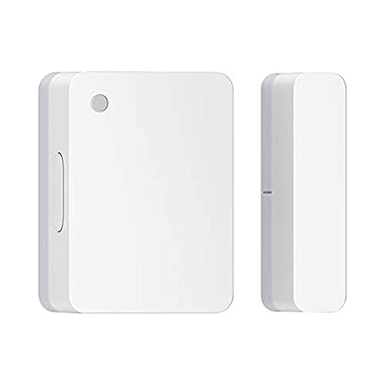 para Mijia Sensor de Puerta y Ventana, Sensor de Puerta Inteligente 2,Conexión inalámbrica Bluetooth,Detector de Alarma Requiere Puerta de Enlace Inteligente Multifuncional