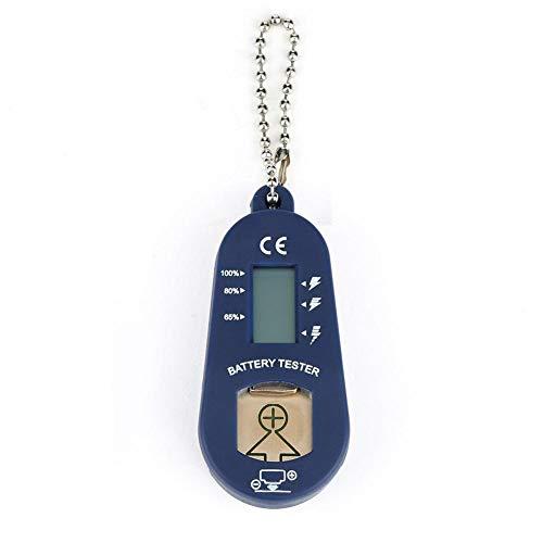 waterfaill BC06 Batterietester für Hörgerätebatterien Hörgeräte Batterie Tester, tragbare Messgeräte, elektrische LCD-Bildschirme, kompakter, benutzerfreundlicher Batterietester