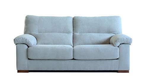 Sofa Boston Deslizante y reclinable (Gris Claro, 170)