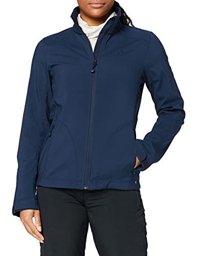 Preisvergleich Produktbild Schöffel Damen Softshell Jacket Tarija2 Softshelljacke,  Dress Blues,  38