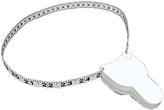 60 Inch Body Tape Measure Perfect Retractable Measuring Tape for Waist, Hip, Bust, Arms, and More 150cm TPPR00353