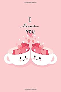 I love you: Nurse notebook journal/organizer for gift: Lined paper writing 120 College Ruled Pages (poplar standard size 6...