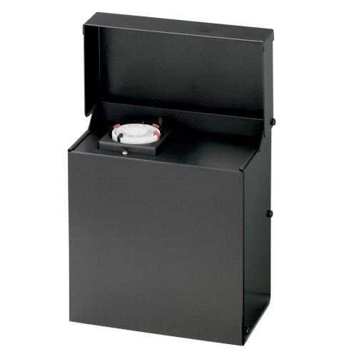 Malibu 8100-9600-01 600 Watt Low Voltage Power Pack Transformer, Black Matte