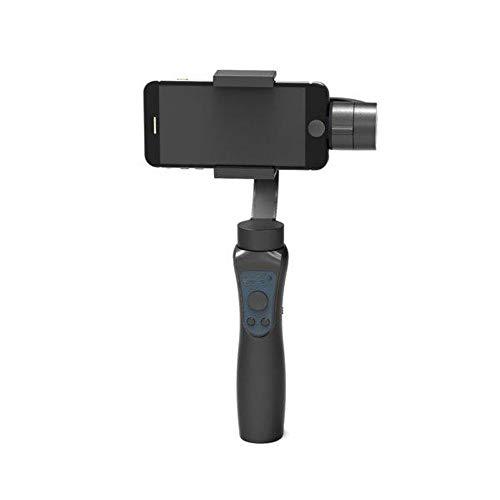 Gimbal Stabilisator für Smartphones & Go Pro Hero Aufnahme Action Kamera Geschichten überall für Smartphone, schwarz, one size