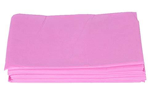 100 Einweg-Massage-Matratze Krankenhaus-Matratze Schlafsack Wasserdicht Einweg-Bettlaken Beauty Salon Pad Pink